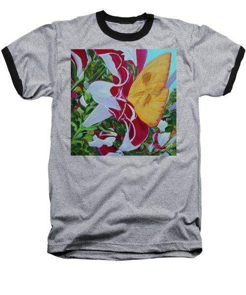 Petunias Baseball T-Shirt