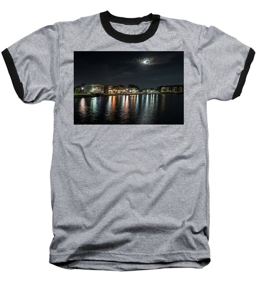 Pewaukee At Night Baseball T-Shirt