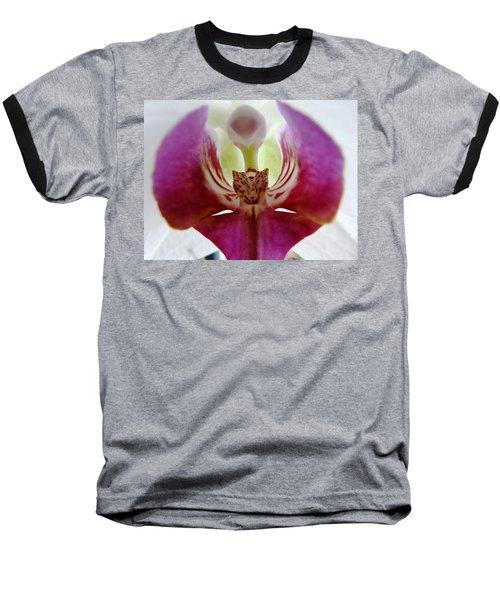 Phalaenopsis Orchid Detail Baseball T-Shirt