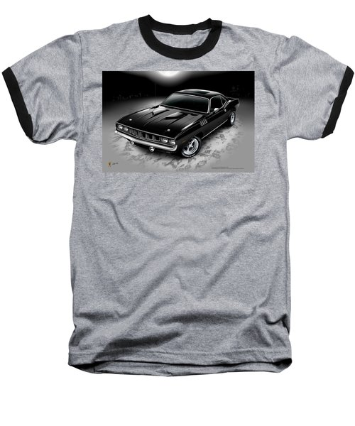 Phantasm 71 Cuda Baseball T-Shirt