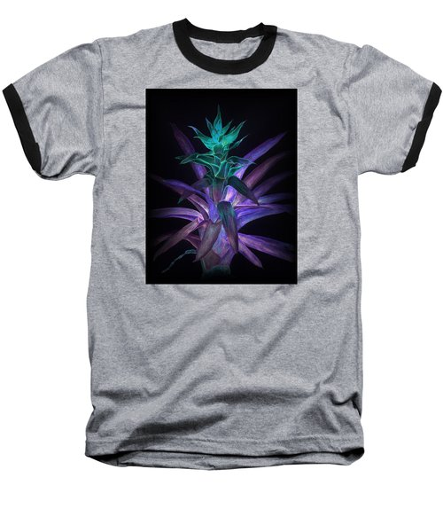 Phantom Bromeliad Baseball T-Shirt