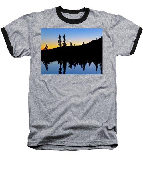 Phantom Forest Baseball T-Shirt by Amelia Racca