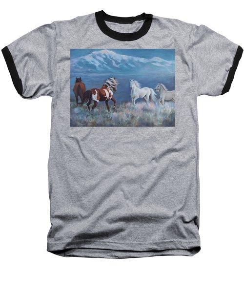 Phantom Of The Mountains Baseball T-Shirt