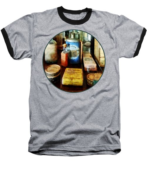 Pharmacy - Cough Remedies And Tooth Powder Baseball T-Shirt