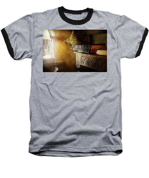 Baseball T-Shirt featuring the photograph Pharmacy - The Apothecarian by Mike Savad