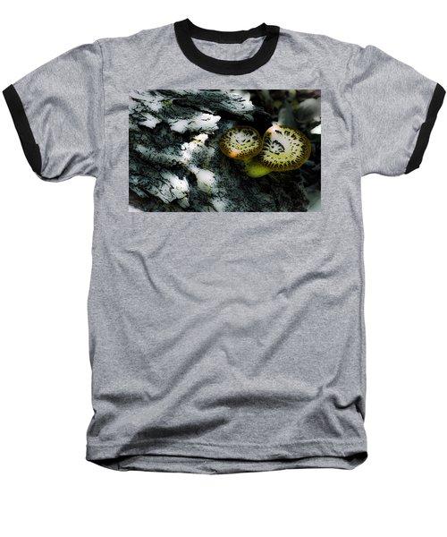 Pheasant Back Wild Mushroom Baseball T-Shirt