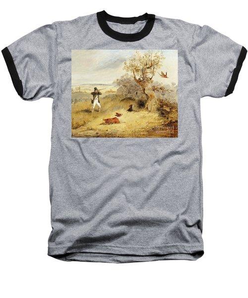 Pheasant Shooting Baseball T-Shirt