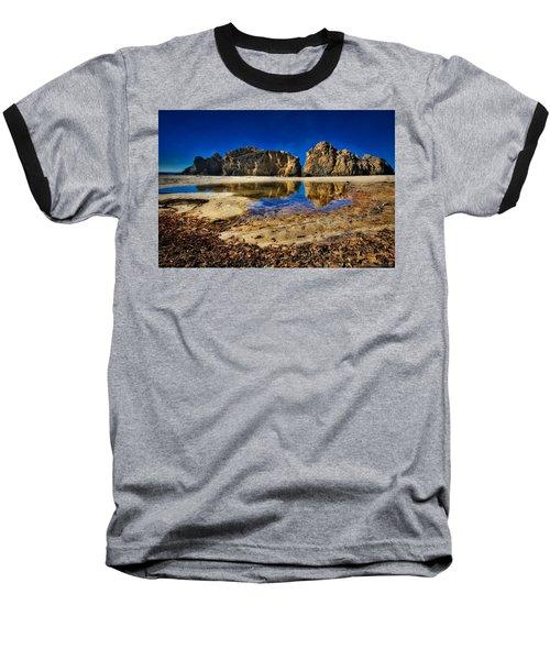 Baseball T-Shirt featuring the photograph Pheiffer Beach #15 - Big Sur, Ca by Jennifer Rondinelli Reilly - Fine Art Photography