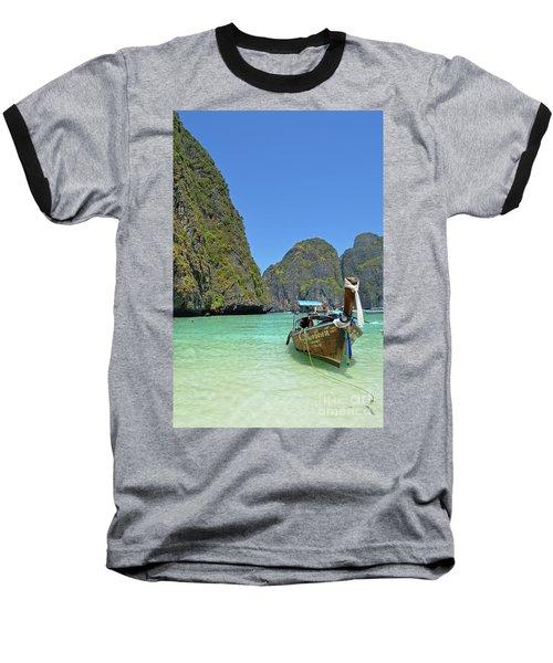 Phi Phi Islands 3 Baseball T-Shirt by Eva Kaufman