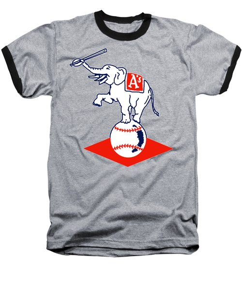 Philadelphia Athletics Retro Logo Baseball T-Shirt by Spencer McKain