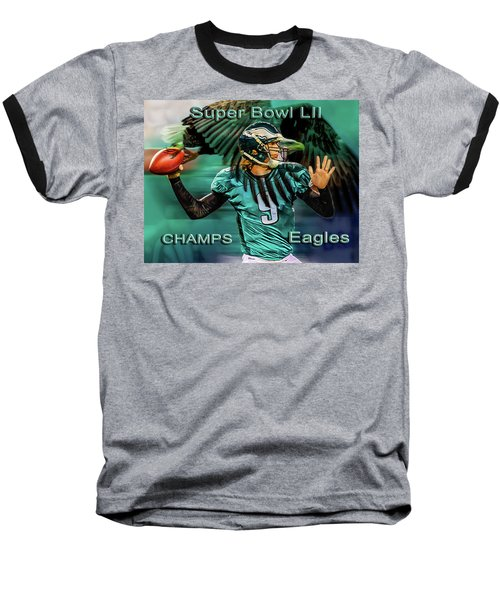 Philadelphia Eagles - Super Bowl Champs Baseball T-Shirt