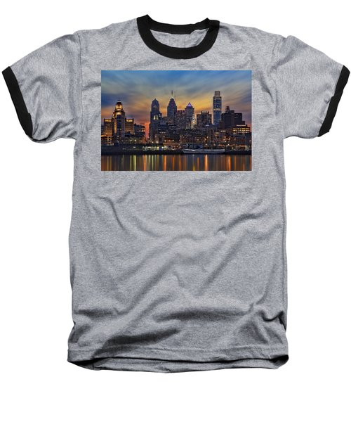 Philadelphia Skyline Baseball T-Shirt