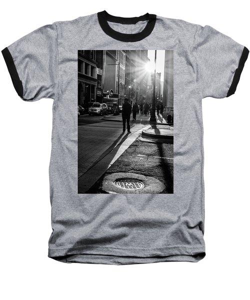Philadelphia Street Photography - 0943 Baseball T-Shirt by David Sutton