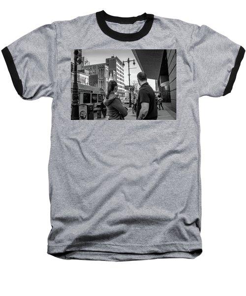 Philadelphia Street Photography - Dsc00248 Baseball T-Shirt by David Sutton