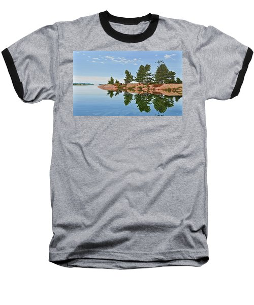 Baseball T-Shirt featuring the painting Philip Edward Island by Kenneth M Kirsch