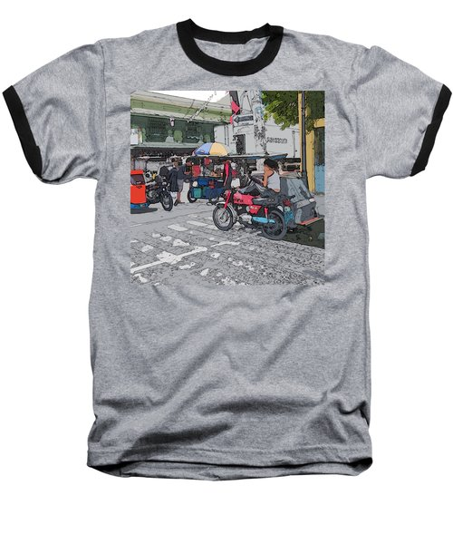 Philippines 673 Street Food Baseball T-Shirt