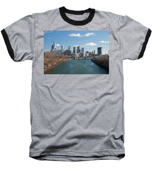 Philly Winter Baseball T-Shirt by Jennifer Ancker