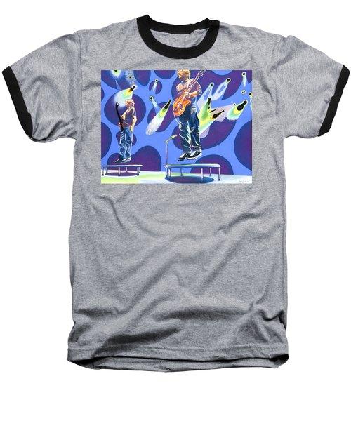 Phish Tramps Baseball T-Shirt by Joshua Morton