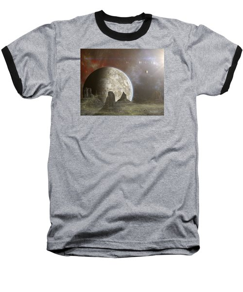 Phobos Baseball T-Shirt by Mark Allen