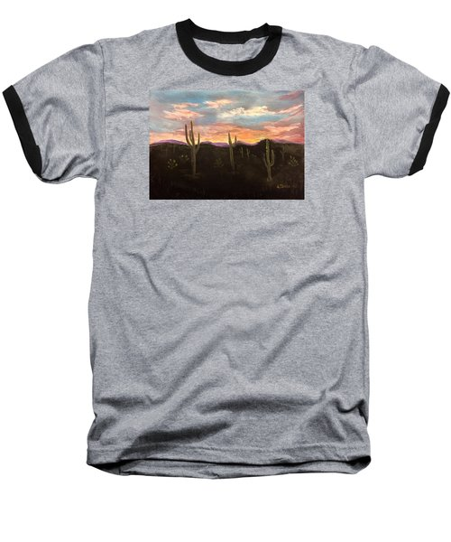 Phoenix Az Sunset Baseball T-Shirt