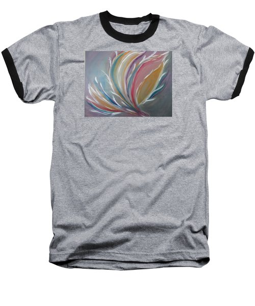 Baseball T-Shirt featuring the painting Phoenix Rising by Sharyn Winters