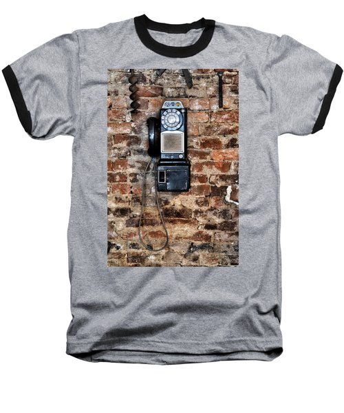 Pay Phone  Baseball T-Shirt