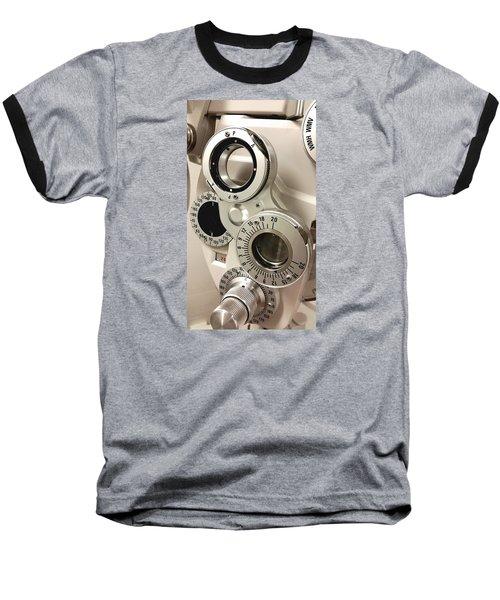 Baseball T-Shirt featuring the photograph Phoropter by Keith Hawley