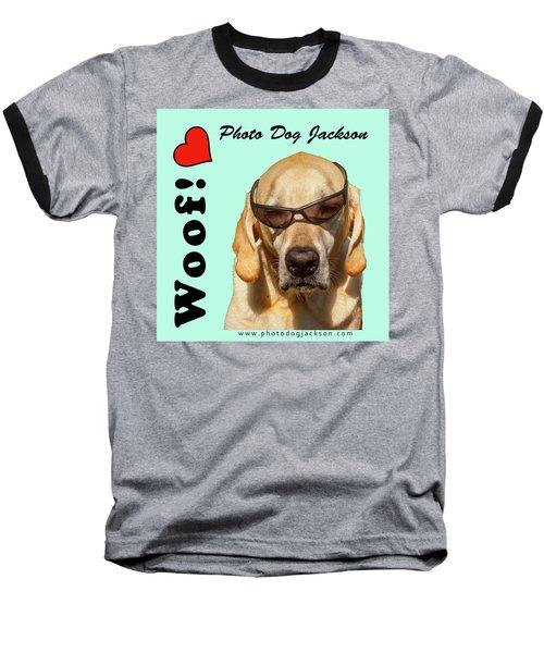 Photo Dog Jackson Mug Baseball T-Shirt
