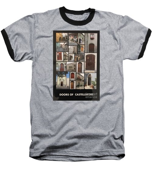 Photograph Baseball T-Shirt by Lucia Grilletto