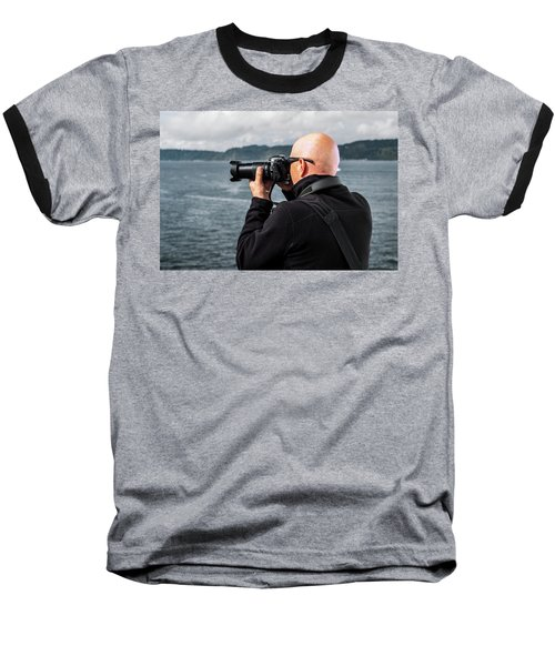 Photographer At Work Baseball T-Shirt