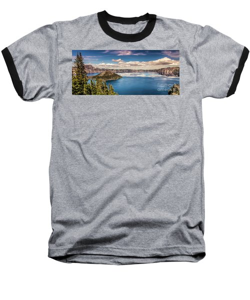 Crater Lake Baseball T-Shirt