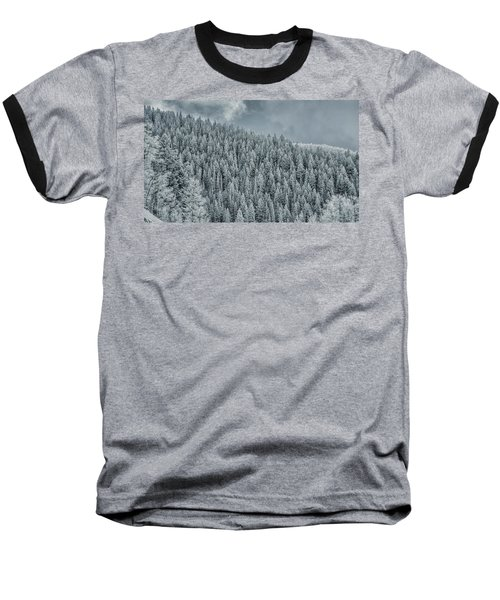 Winter Pines Baseball T-Shirt