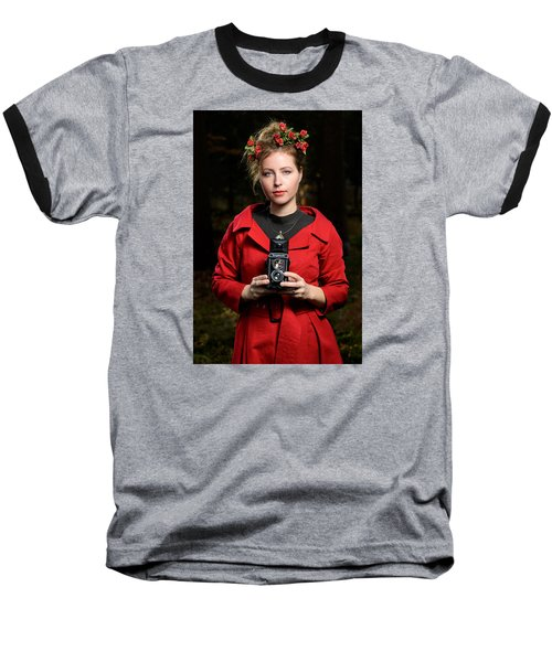 Photographer Baseball T-Shirt by Robert Krajnc