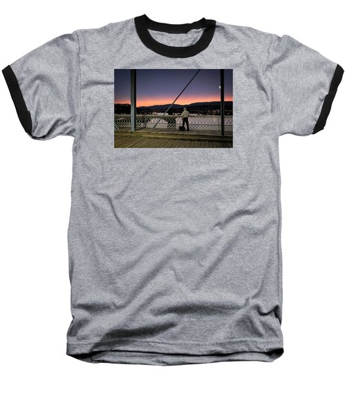 Photographing The Sunset Baseball T-Shirt
