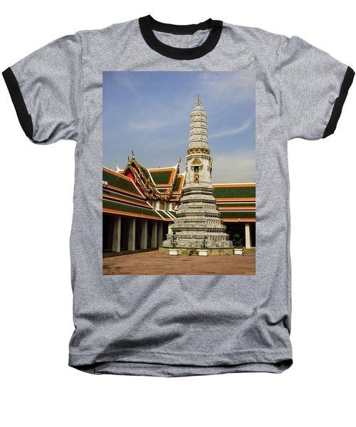 Phra Prang Tower At Wat Pho Temple Baseball T-Shirt