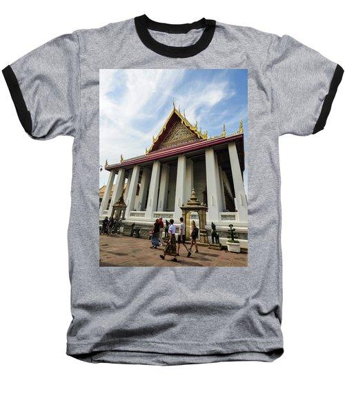 Phra Ubosot At Wat Pho Temple Baseball T-Shirt