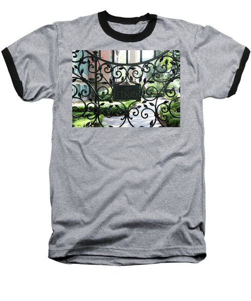Pi Kappa Phi Gate Baseball T-Shirt by Ed Waldrop