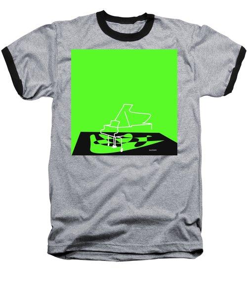 Piano In Green Baseball T-Shirt