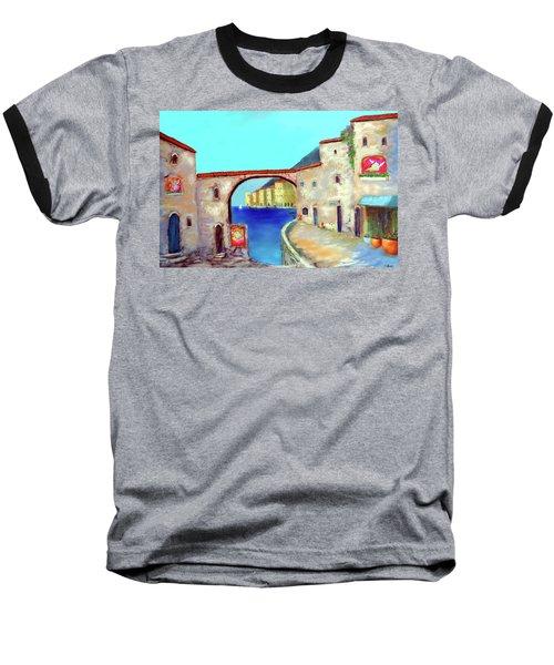 Piazza Del La Artista Baseball T-Shirt