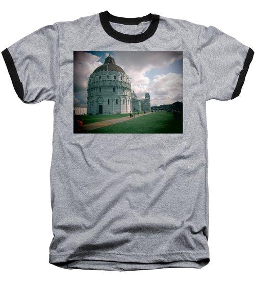 Piazza In Piza Baseball T-Shirt
