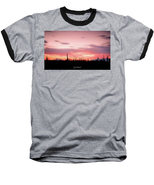 Picacho Sunset Baseball T-Shirt