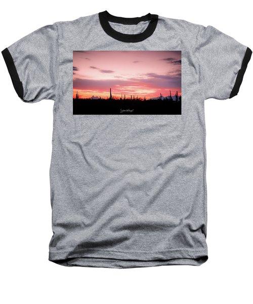 Picacho Sunset Baseball T-Shirt