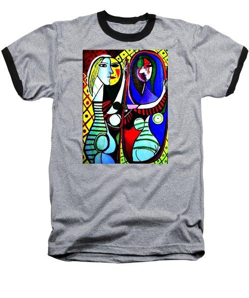 Picasso - El Espejo Original Baseball T-Shirt