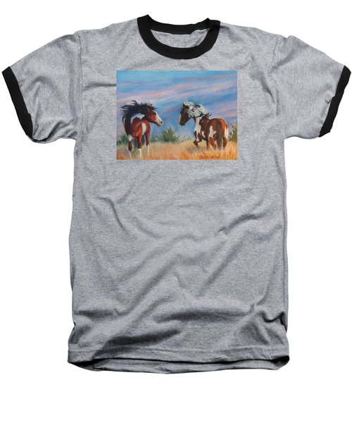 Baseball T-Shirt featuring the painting Picasso Challenge by Karen Kennedy Chatham