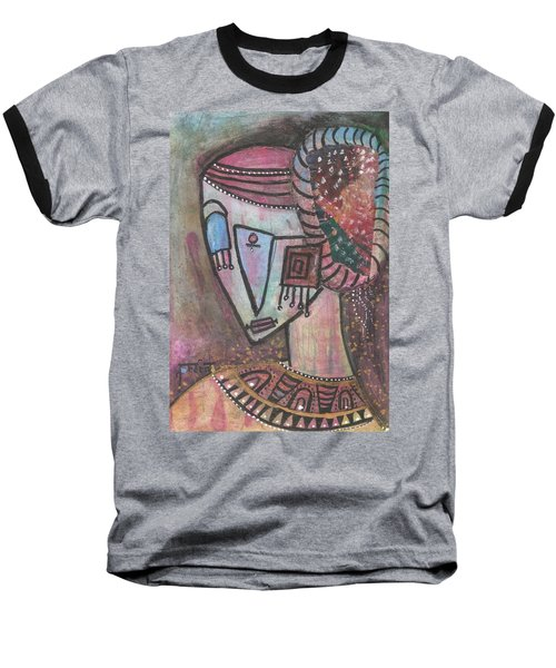 Picasso Inspired Baseball T-Shirt