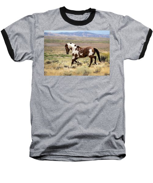 Picasso Strutting His Stuff Baseball T-Shirt by Nadja Rider