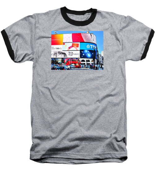 Piccadilly Magic Baseball T-Shirt by Andreas Thust