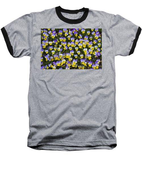 Pick Me-pansies Baseball T-Shirt