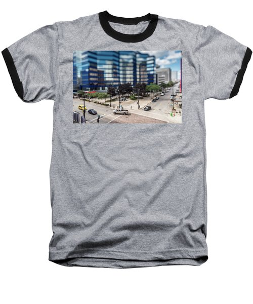 Pick-up Truck In The Itty-bitty-city Baseball T-Shirt