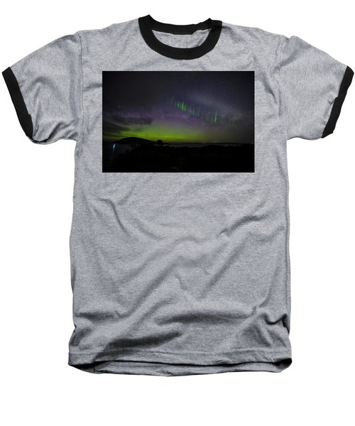Baseball T-Shirt featuring the photograph Picket Fences by Odille Esmonde-Morgan